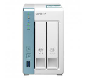 NAS QNAP TS-231K 2 baías Quad-Core 1.7GHz