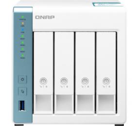 NAS QNAP TS-431K 4 baías Quad-Core 1.7GHz