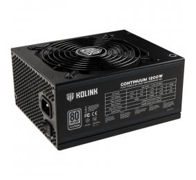 Fonte de Alimentação Kolink Continuum 1200W 80PLUS Platinum Full Modular V2