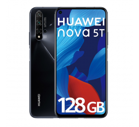 """Smartphone Huawei Nova 5T 6.26"""" 6GB/128GB Dual SIM Preto"""