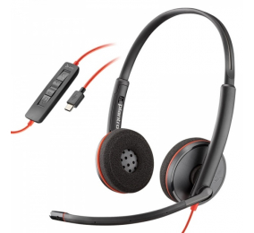 Headset Plantronics Poly Blackwire C3220 USB-C