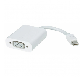 Adaptador Ewent Mini DisplayPort p/ VGA M/F 0.15m Branco