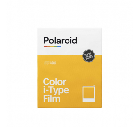 Película Polaroid Color Film p/ i-Type Double Pack