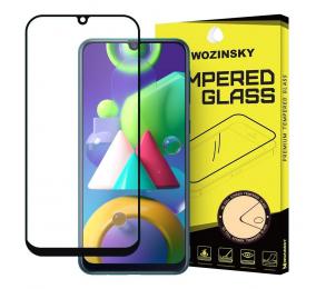 Pelicula Vidro Temperado Wozinsky Frame Case Friendly Samsung Galaxy M30s / Galaxy M21 Preta