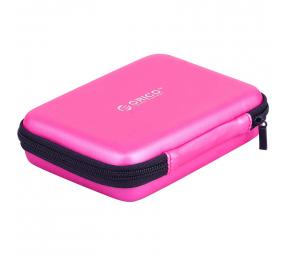 """Bolsa de Proteção Orico PHB-25 para HDD/SSD 2.5"""" Rosa"""