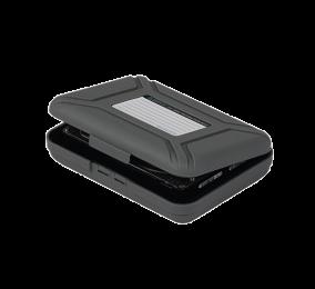 """Caixa de Proteção Orico PHX-35 para HDD 3.5"""" Cinza"""