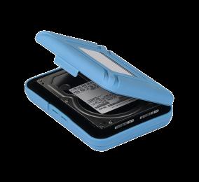 """Caixa de Proteção Orico PHX-35 para HDD 3.5"""" Azul"""