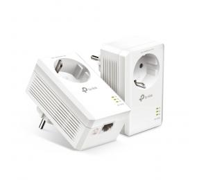 Powerline TP-Link AV1000 Gigabit Passthrough Powerline Starter Kit