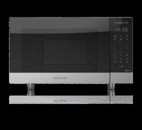 Micro-ondas com Grill Cecotec ProClean 6110 1000W 23 Litros Aço Inoxidável