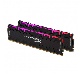 Memória RAM HyperX Predator RGB 16GB (2x8GB) DDR4-4000MHz CL19 Preta