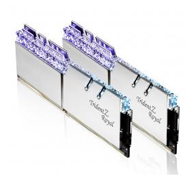 Memória RAM G.SKILL Trident Z Royal RGB 16GB (2x8GB) DDR4-4000MHz CL16 Prateada