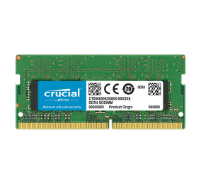 Memória RAM SO-DIMM Crucial Value 16GB (1x16GB) DDR4-2666MHz CL19 for Mac