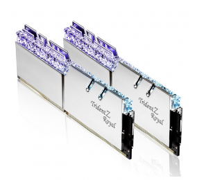 Memória RAM G.SKILL Trident Z Royal RGB 16GB (2x8GB) DDR4-4000MHz CL15 Prateada
