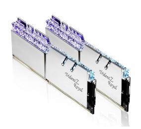 Memória RAM G.SKILL Trident Z Royal RGB 16GB (2x8GB) DDR4-4000MHz CL17 Prateada