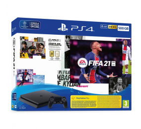 Consola Sony PlayStation 4 500GB + FIFA 21