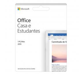 Cartão Microsoft Office2019 Casa & Estudante PT