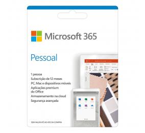 Cartão Microsoft M365 Pessoal PT