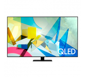 "Televisão Plana Samsung Q80T SmartTV 50"" QLED 4K UHD"