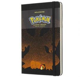 Caderno Grande Pautado Moleskine Pokémon Charmander
