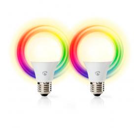 Lâmpada Nedis RGB 6W/40W 470 lm E27 2UN