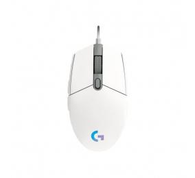 Rato Logitech G102 Lightsync 8000DPI Branco