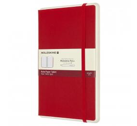 Caderno Grande Pautado Moleskine Paper Tablet 1 Vermelho