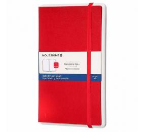 Caderno Grande Ponteado Moleskine Paper 1 Tablet Vermelho