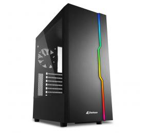 Caixa ATX Sharkoon RGB Slider Preta