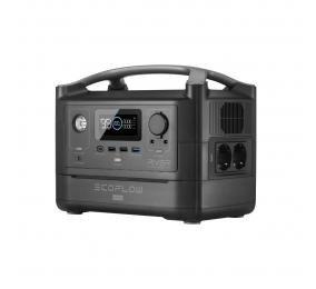 Bateria Portátil EcoFlow River Max Power Station Kit Bateria Extra 576Wh