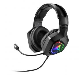 Headset Sharkoon Rush ER30 RGB USB Preto
