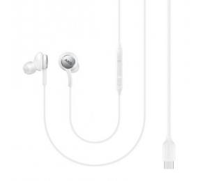 Auriculares Samsung Tipo-C Brancos