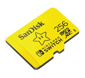 Cartão Memória SanDisk Nintendo Switch UHS-I U3 microSDXC 256GB