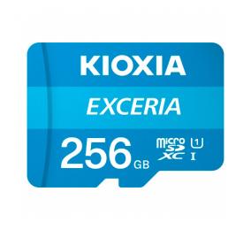 Cartão Memória Kioxia Exceria C10 UHS-I U1 microSDXC 256GB + Adaptador SD
