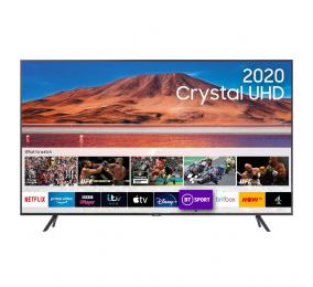 "Televisão Plana Samsung TU7105 SmartTV 75"" LED 4K UHD"