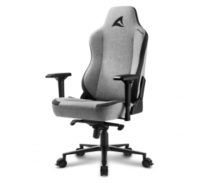 Cadeira Gaming Sharkoon Skiller SGS40 Fabric Cinza