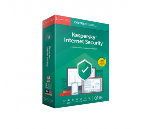 Software Kaspersky Internet Security 2020 - 1 Dispositivos 1 Ano