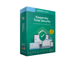 Software Kaspersky Total Security 2020 5 Dispositivos - 1 Ano