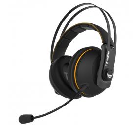 Headset Asus TUF Gaming H7 Wireless PC/PS4 Preto/Amarelo