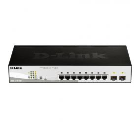 Switch D-Link DGS-1210-08P Gigabit PoE Smart Managed