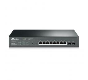 Switch TP-Link T1500G-10MPS Poe+ 8-Portas Gigabit Jetstream c/ 2 Slots SFP