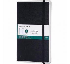 Caderno Grande Liso Moleskine Paper Tablet 1 Preto