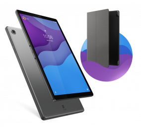 """Tablet Lenovo Tab M10 HD TB-X306F (2nd Gen) 10.1"""" 4GB/64GB Wi-Fi Cinzento"""