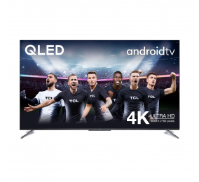 "Televisão Plana TCL C715 65C715 SmartTV 65"" QLED 4K UHD Android TV"