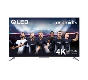 "Televisão Plana TCL C715 50C715 SmartTV 50"" QLED 4K UHD Android TV"