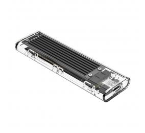 Caixa Externa M.2 Orico TCM2F-C3 SSD M.2 NGFF USB 3.1 Type-C Transparente