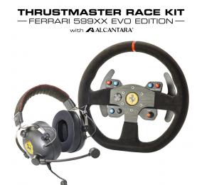 Race Kit Thrustmaster Ferrari 599XX Evo Edition Headset + Volante