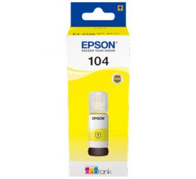 Tinteiro Epson 104 EcoTank Pigmento Amarelo