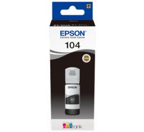 Tinteiro Epson Original 104 EcoTank Black Ink Bottle Preto