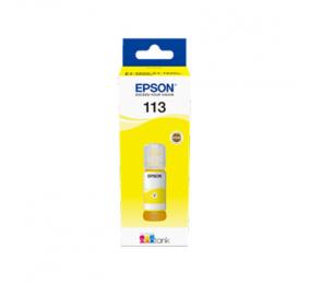 Tinteiro Epson 113 EcoTank Pigmento Amarelo