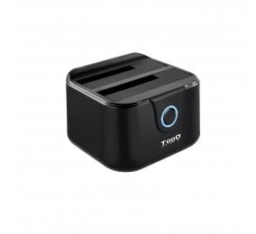 """Dock Station TooQ TQDS-802B SATA 2.5""""/3.5"""" a USB 3.0 com USB 2.0 HOST"""